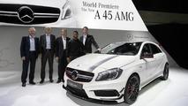 2013 Mercedes-Benz A45 AMG at 2013 Geneva Motor Show