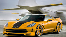 Chevrolet Corvette Stingray artist rendering 19.02.2013