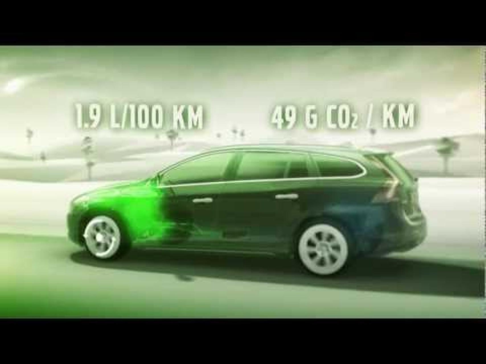 2012 Volvo V60 Plug-In Hybrid - Animation