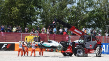 Hamilton/Rosberg: The Spanish GP crash in their own words