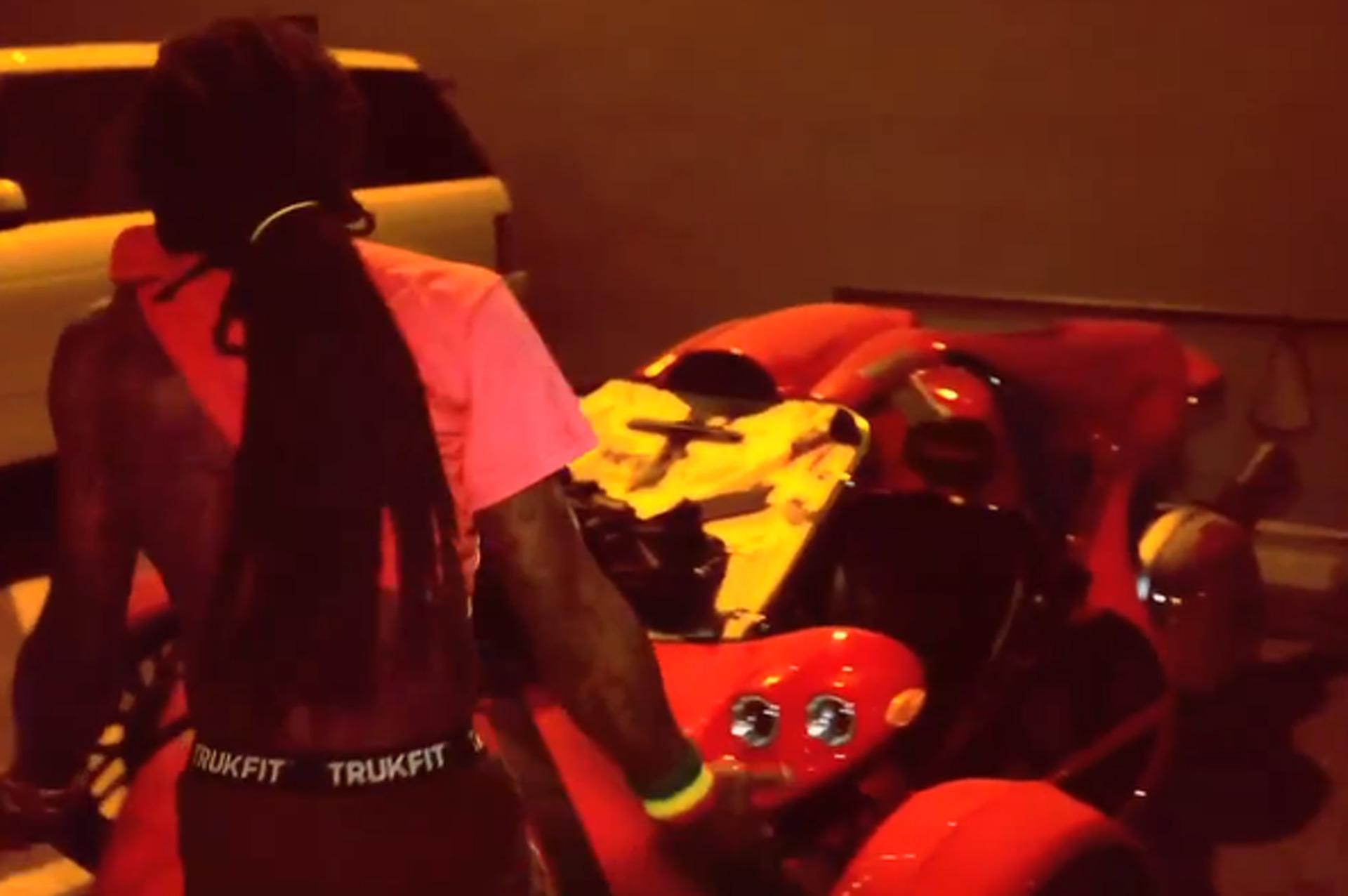 Nicki Minaj Buys Lil Wayne T-Rex, Proves She Has No Taste in Vehicles