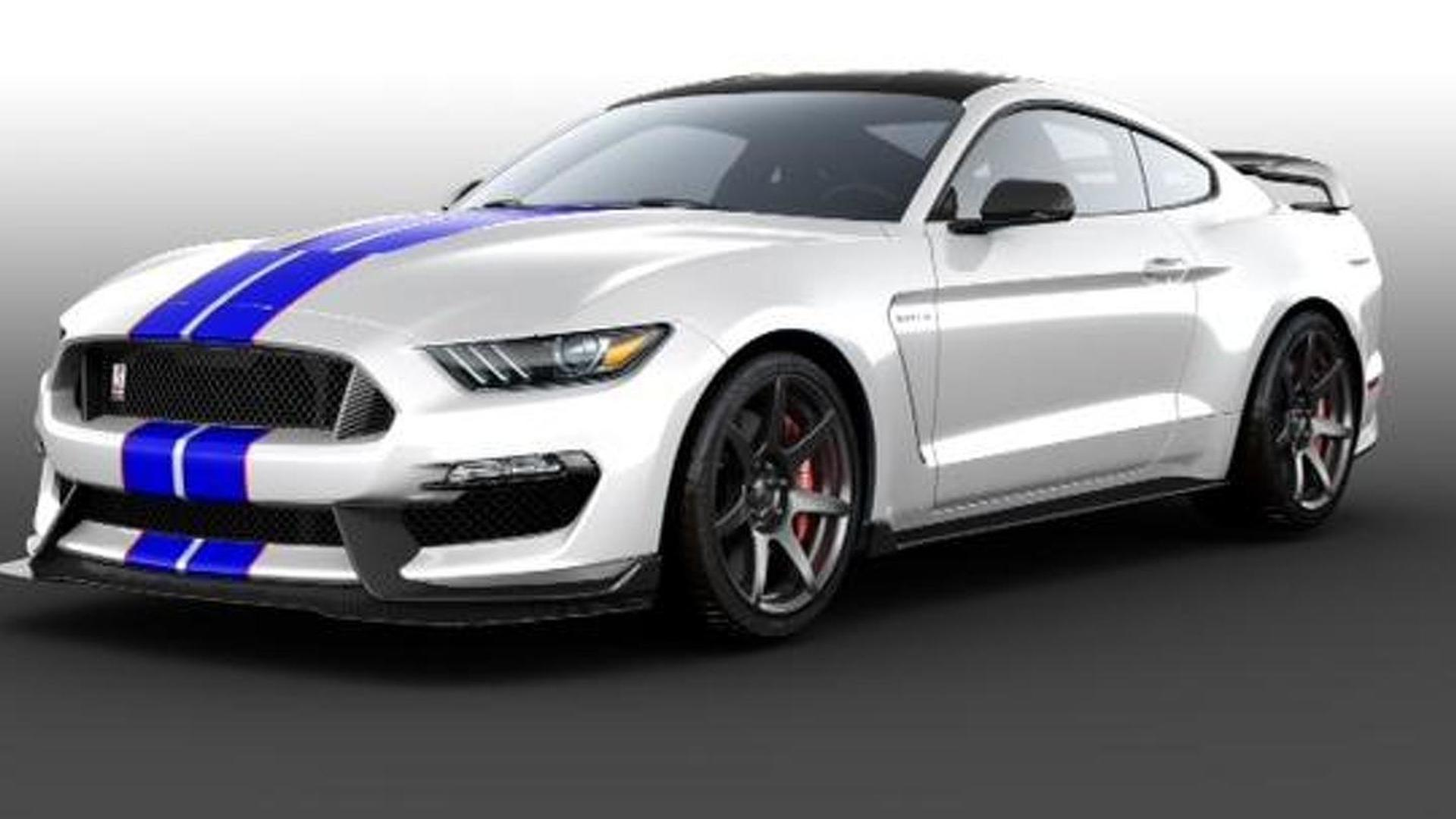 Ford to auction off a unique 2016 Shelby GT350R Mustang