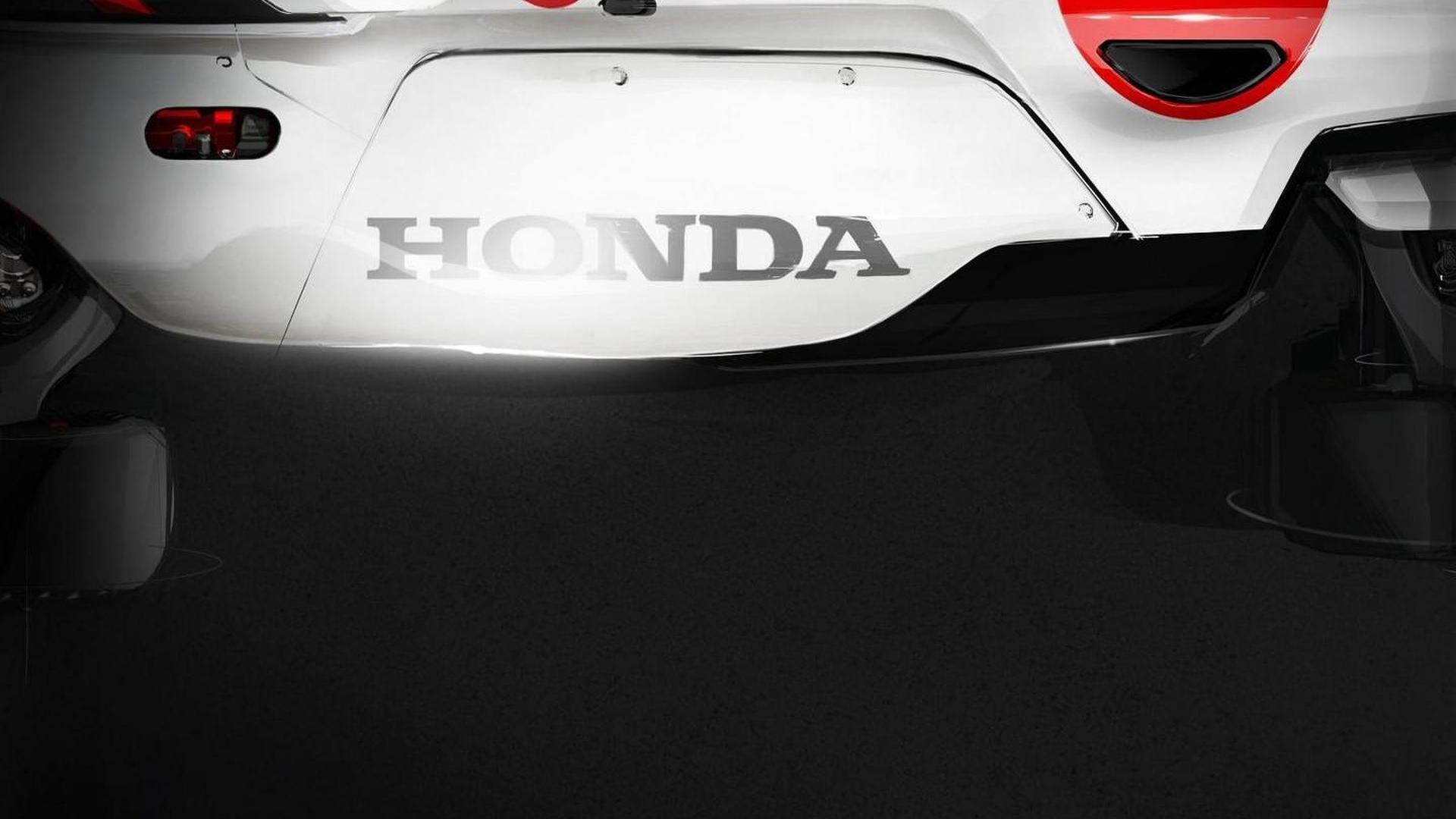 Honda Project 2&4 teased for Frankfurt