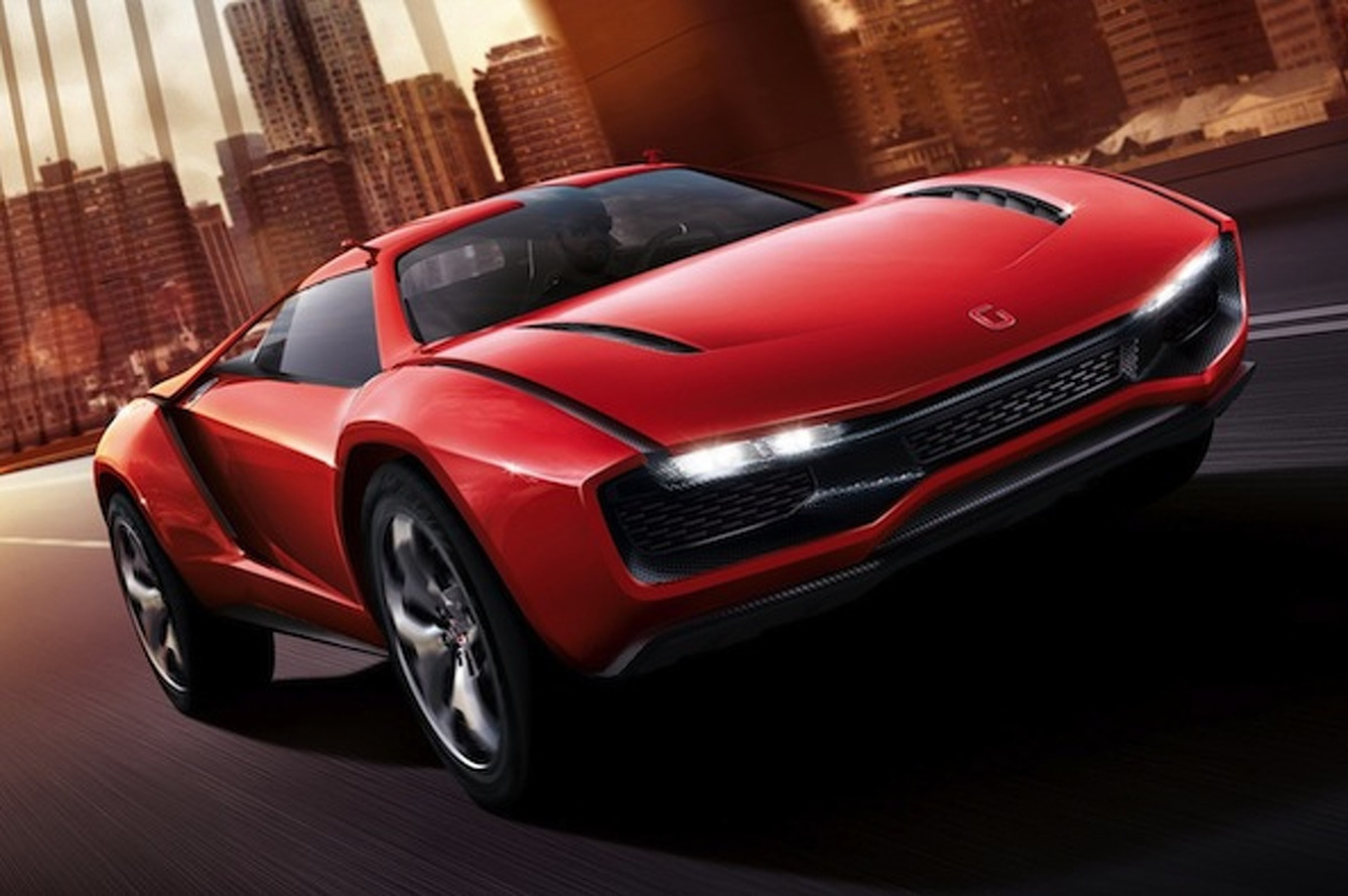 Italdesign Introduces V10-Powered Parcour Coupe