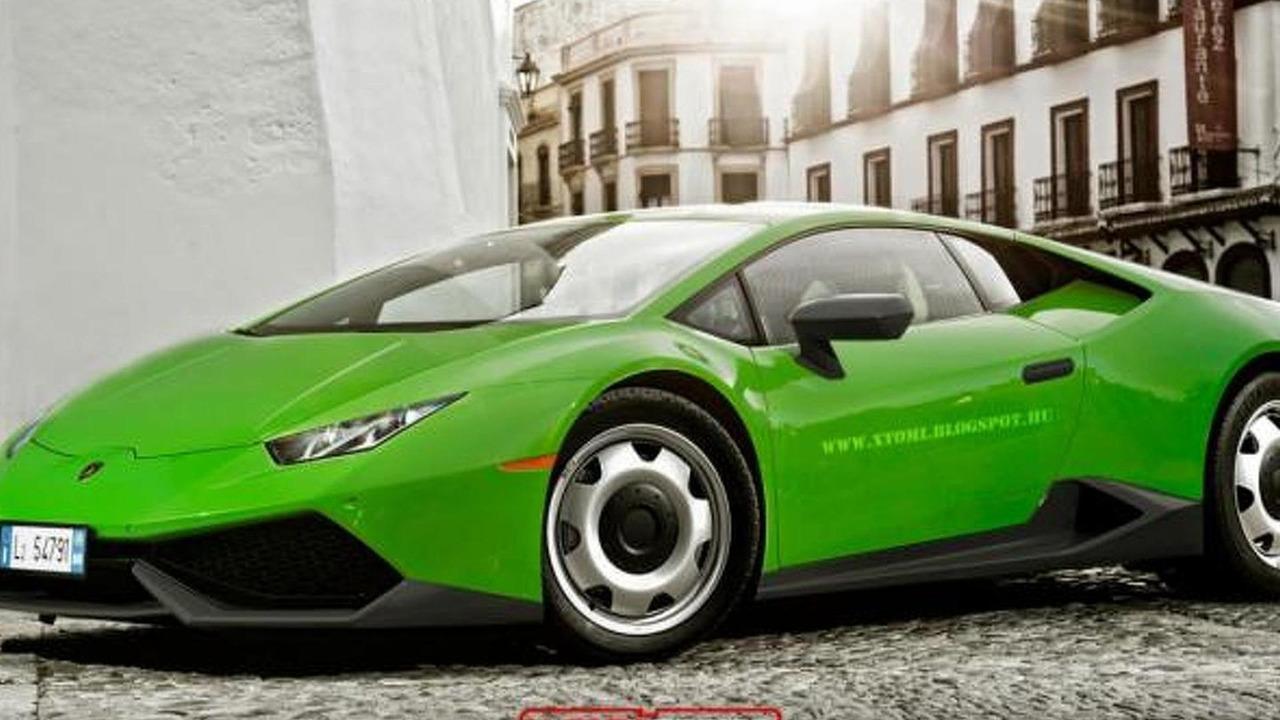 Lamborghini Huracan base-spec rendering / X-Tomi