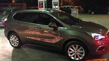 Buick Envision spotted in the metal at gas station in China