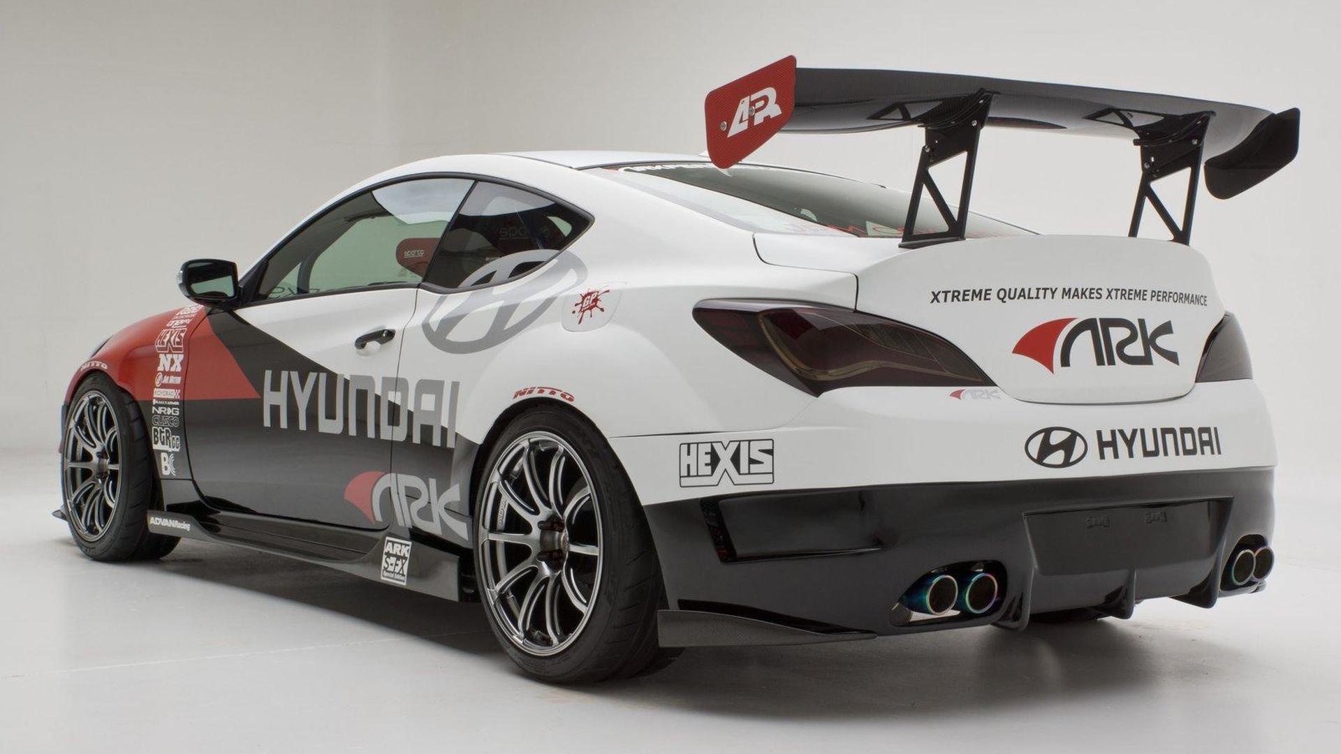 Hyundai Genesis Coupe R-Spec Track Edition announced for SEMA