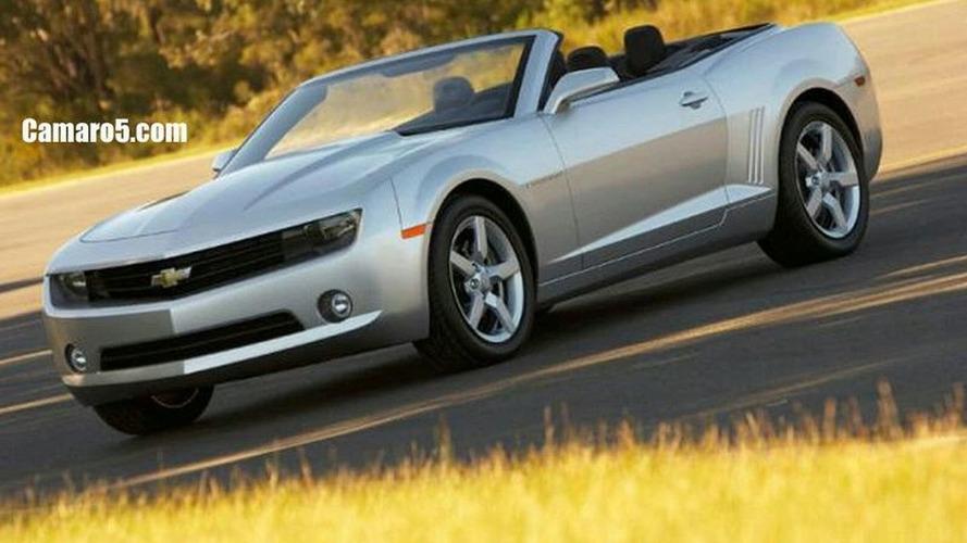 Speculations: New Chevrolet Camaro Cabriolet Images