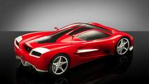Ferrari Ascari posterior