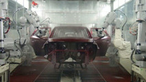 Nissan Introduces New Paint Coating System at Kyushu Plant