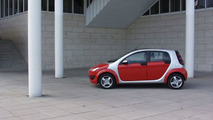 Smart Forfour on location in Espoo Finland