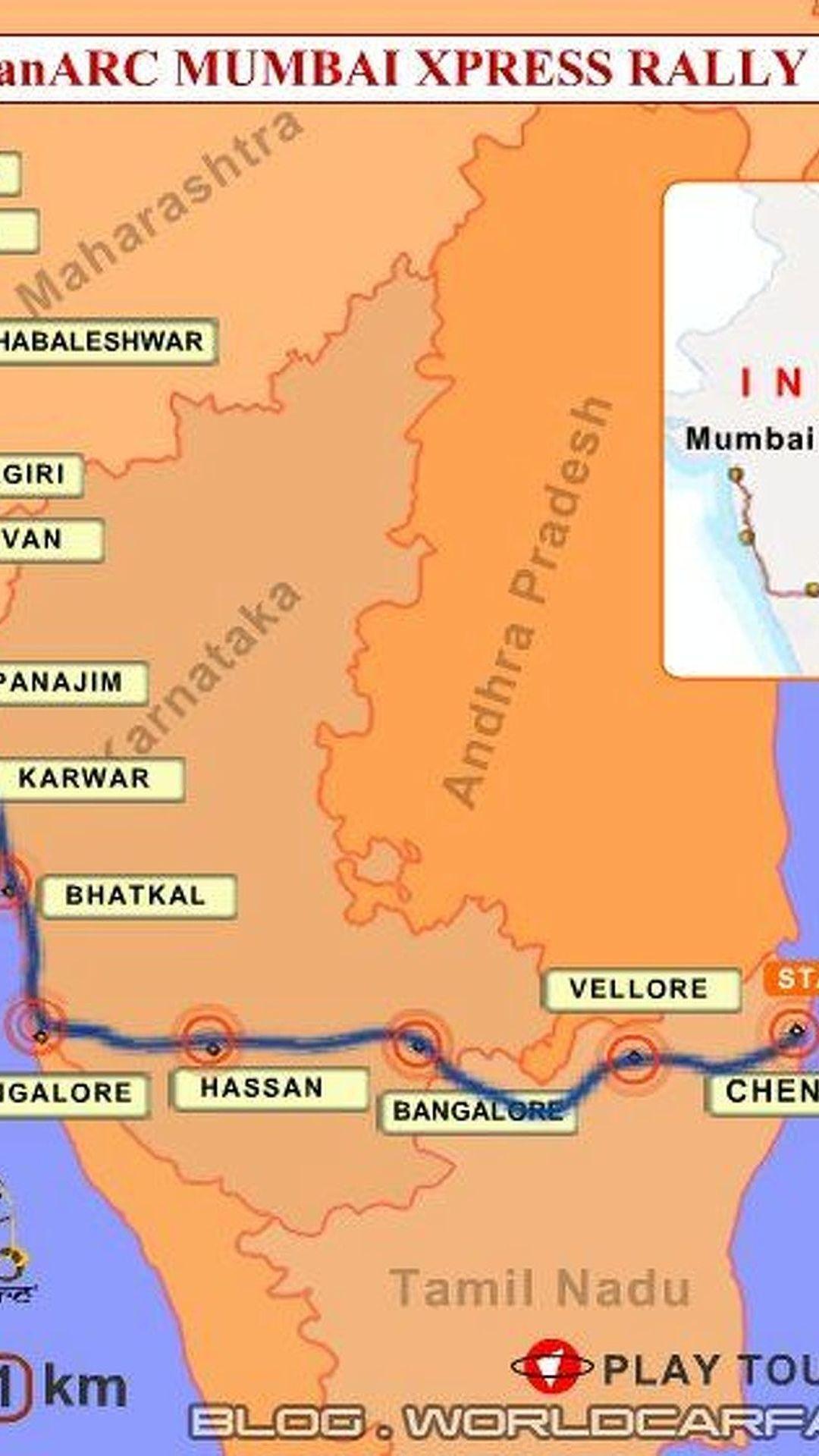 IndianARC Mumbai Xpress Rally