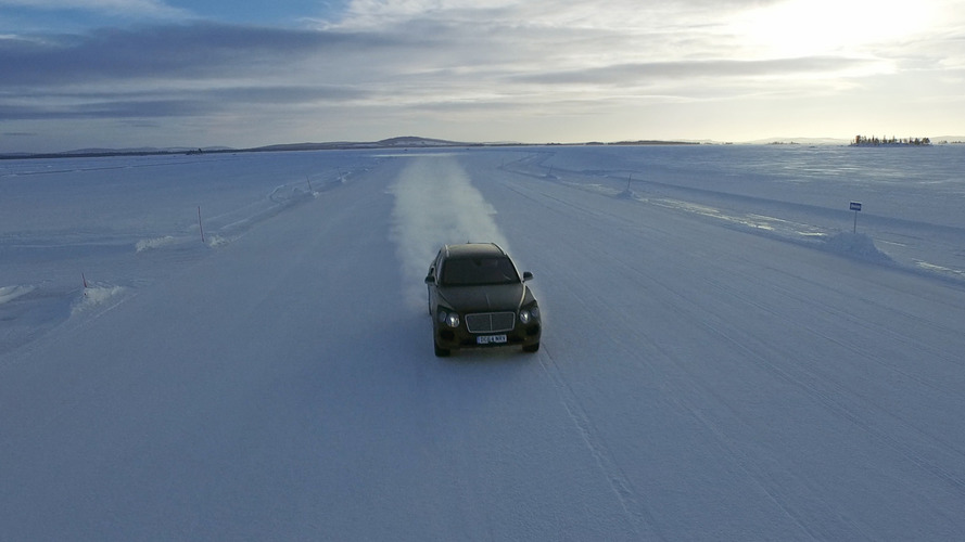 Bentley Bentayga to become part of the company's Power on Ice event