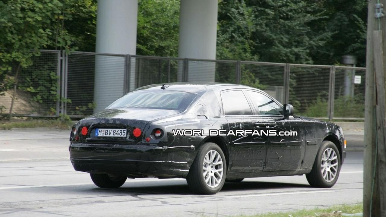 Rolls-Royce RR4 spy photo