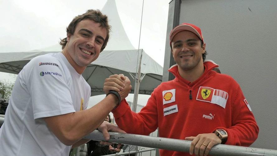 Alonso must earn status at Ferrari - Massa