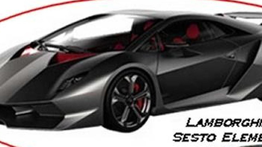 Lamborghini Sixth Element Concept LEAKED
