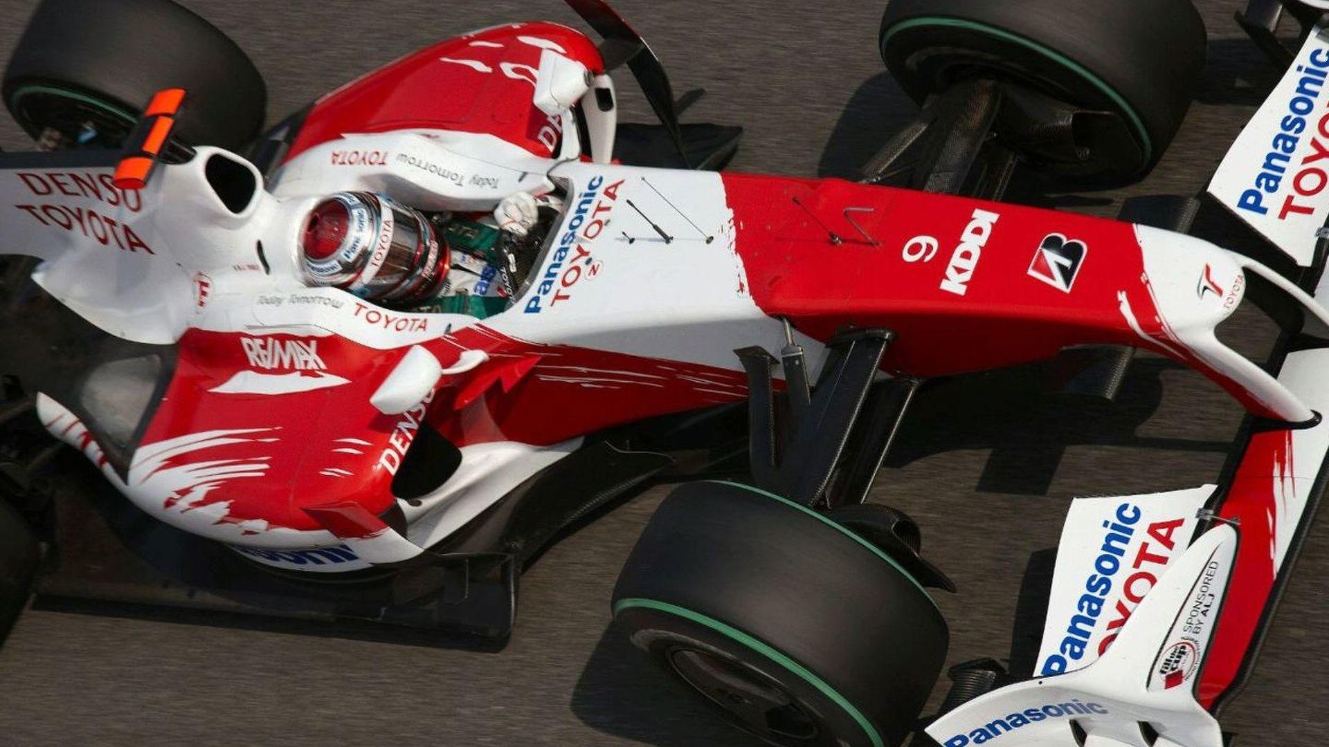 Despite no entry, Stefan GP working on TF110 car