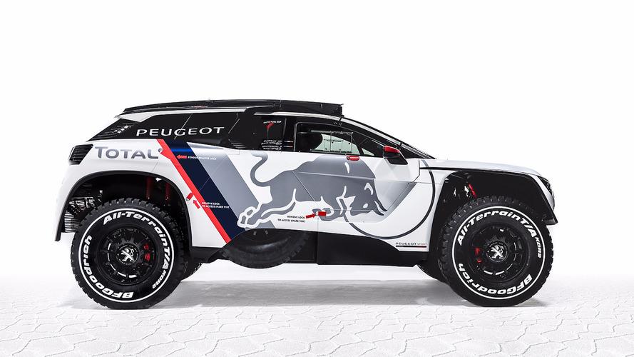 Peugeot unveils new Dakar challenger