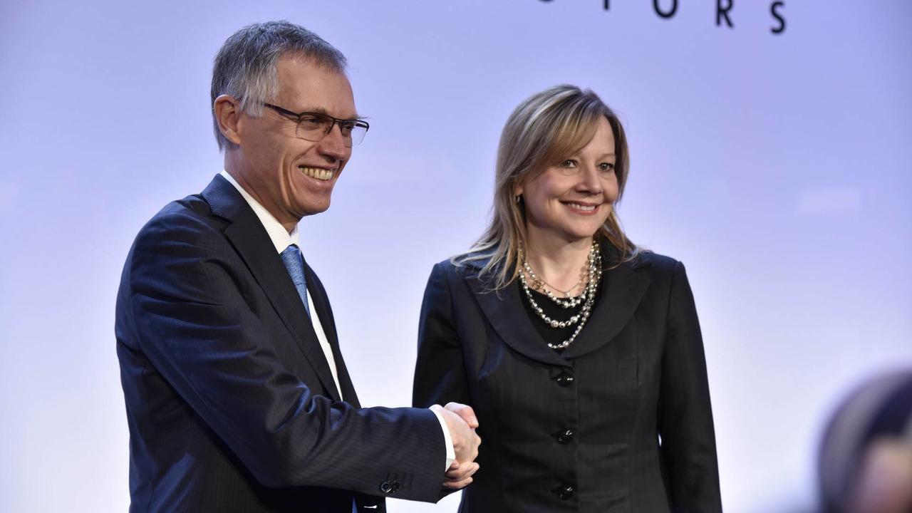 Mary Barra e Carlos Tavares fecham acordo sobre venda da Opel à PSA