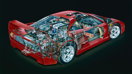 Six Ferrari F40 facts for car nerds only