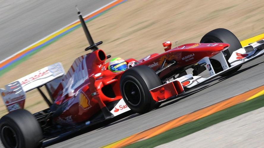 Ferrari's new car impresses on first test day