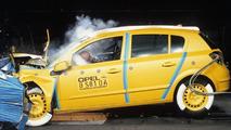 Opel Astra crash testing