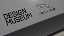 Jaguar XE word cloud sculpture