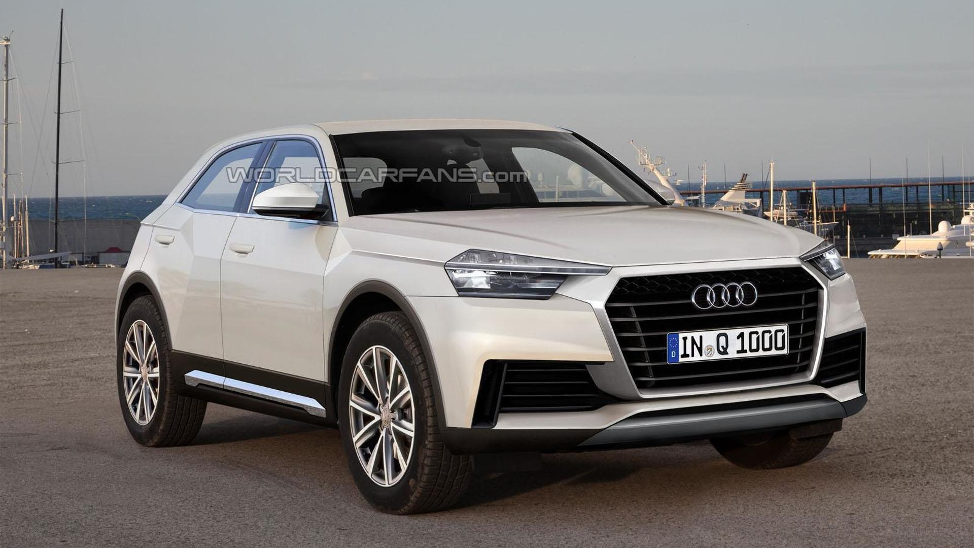 2016 Audi Q1 gets rendered