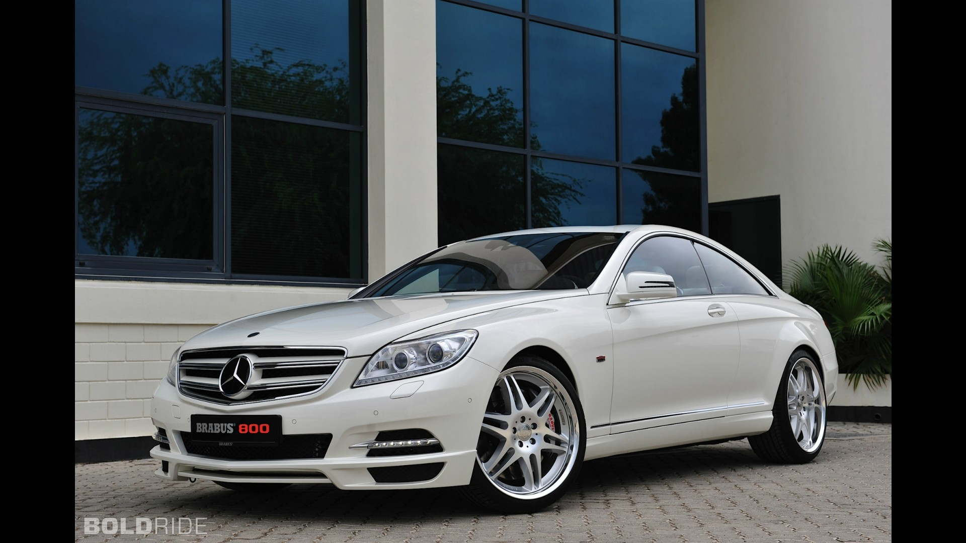 Brabus Mercedes-Benz CL Coupe 800