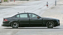 BMW New 7-Series riding low Spy Photos