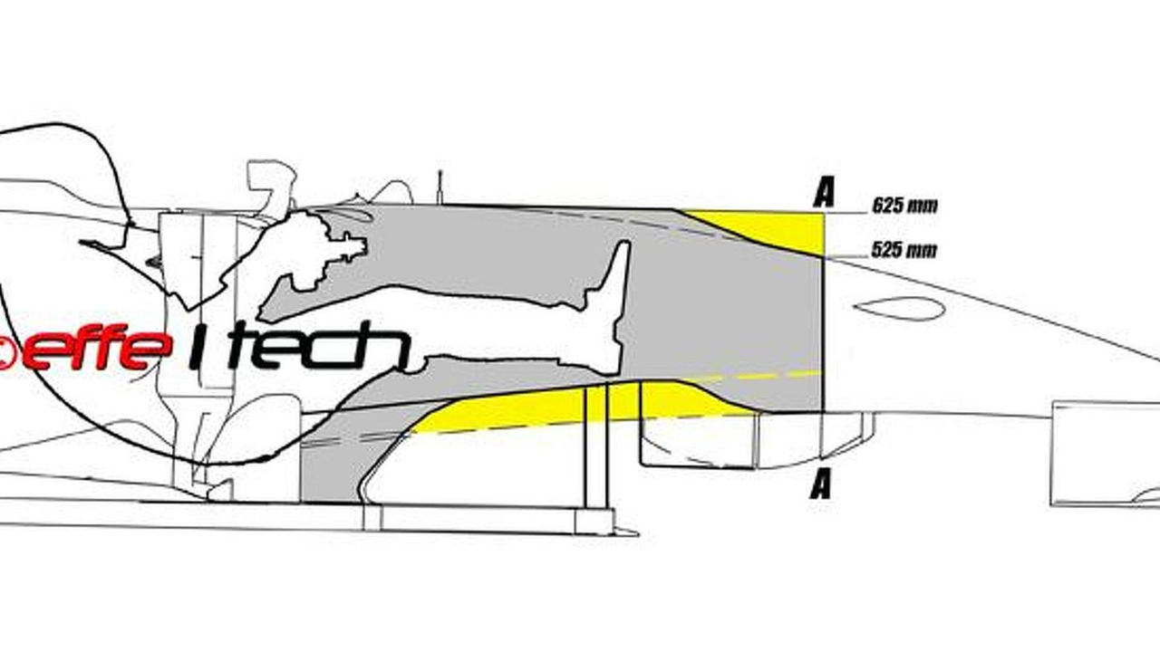 Force India F1 VJM07 speculative design sketch