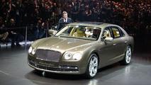 2014 Bentley Continental Flying Spur world debut live in Geneva 04.03.2013