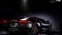 Lamborghini Aventador on Vellano wheels