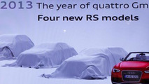 Audi RS7 and RS Q3 coming in 2013 ?
