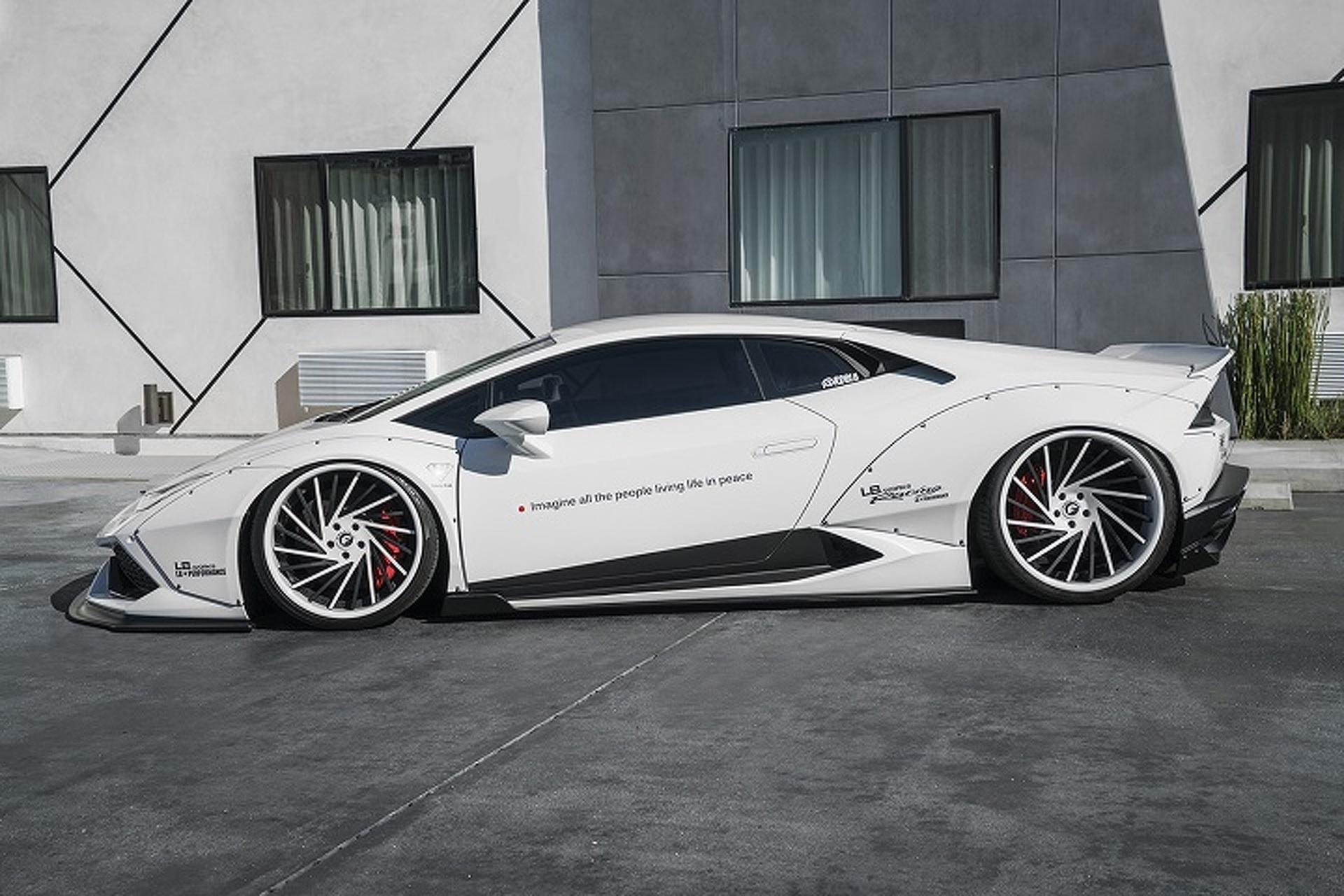 Liberty Walk Works its Magic on the Lamborghini Huracan