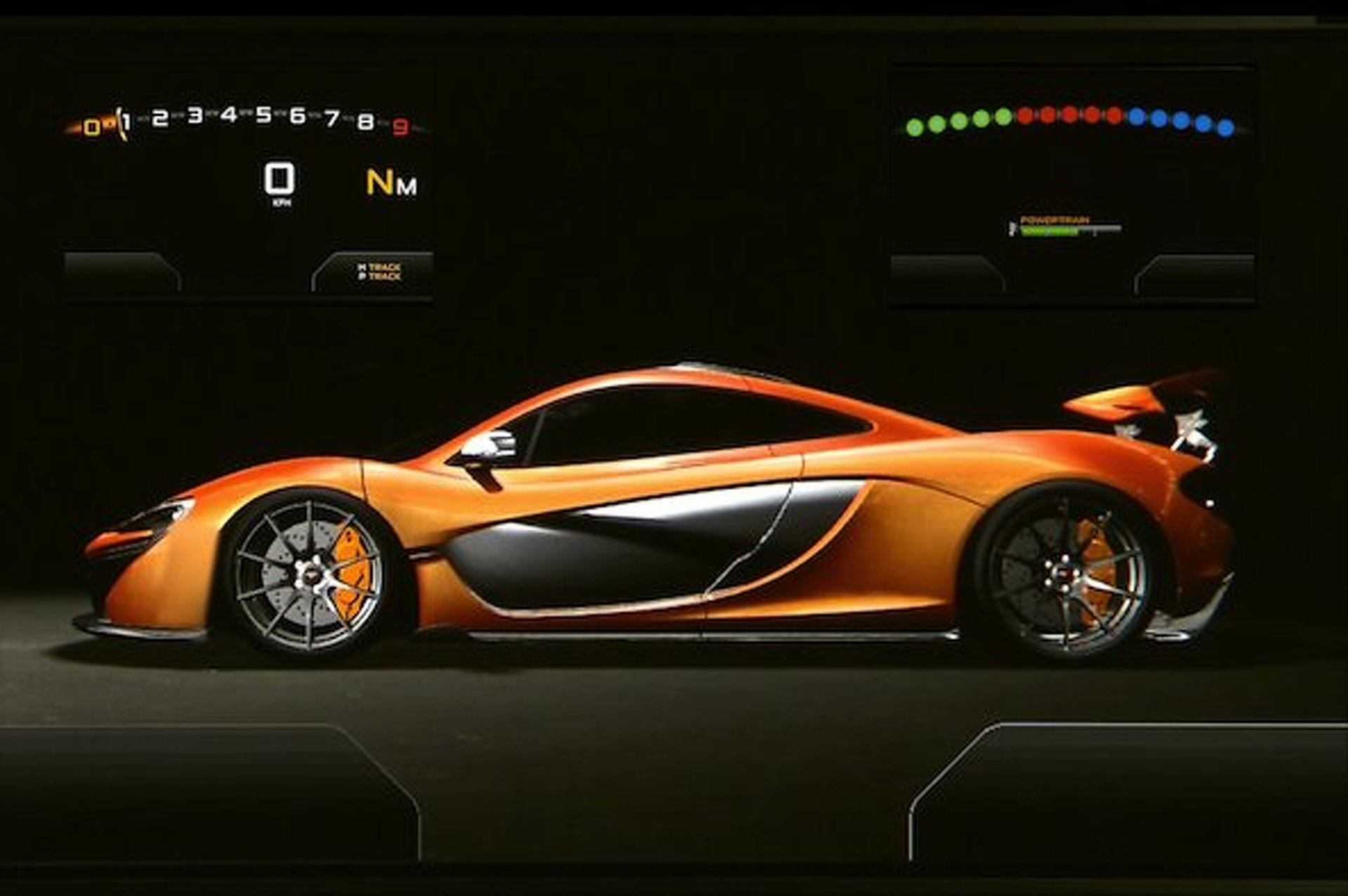 Video: McLaren Offers First Glimpse of Futuristic P1 Dash
