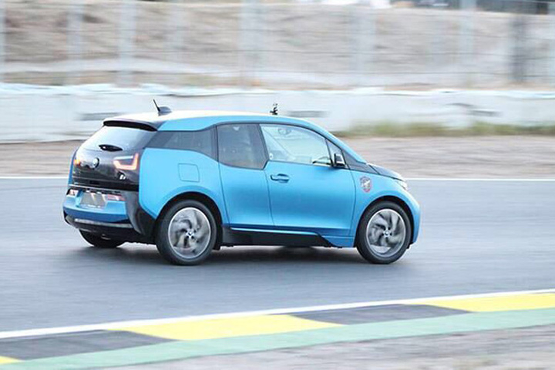 Watch the Electric BMW i3 Silently Lap a Track