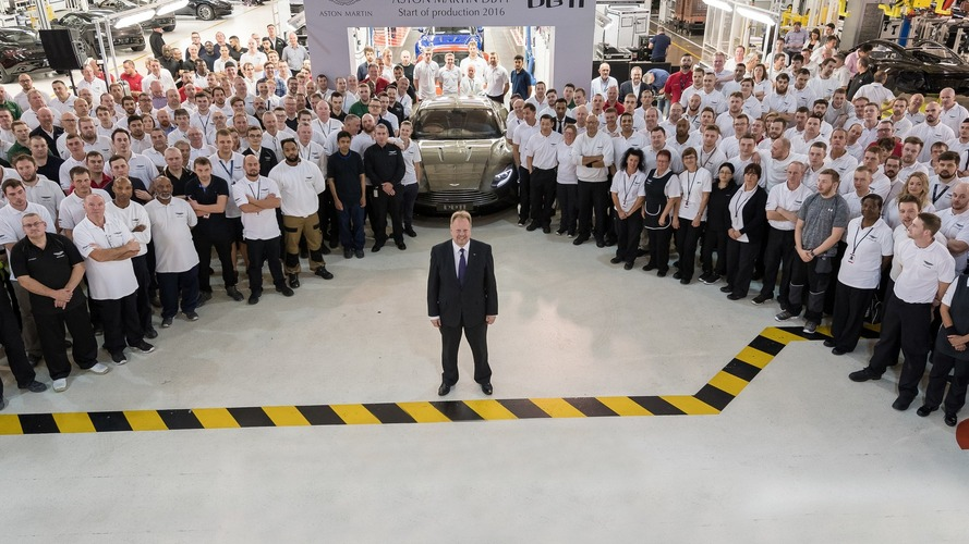 Aston Martin DB11 production starts