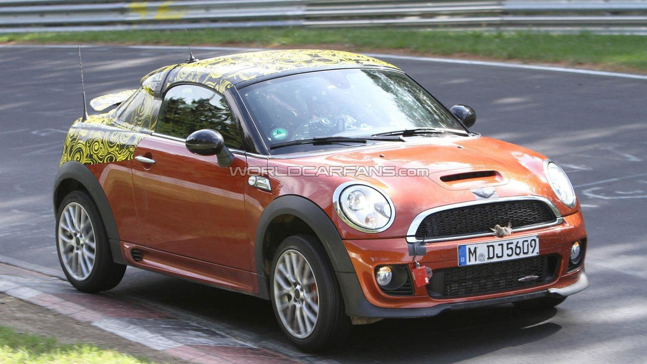 2012 Mini Coupe JCW spied Nurburgring 24.05.2011