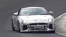 2016 Jaguar F-Type SVR screenshot from spy video