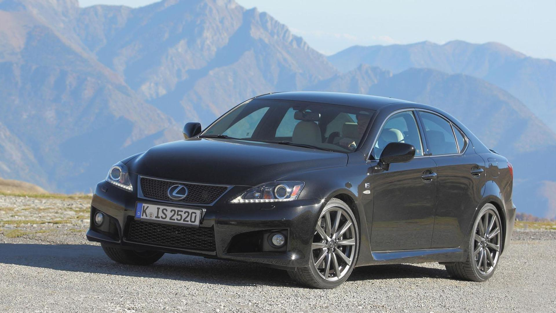 2012 Lexus IS-F unveiled