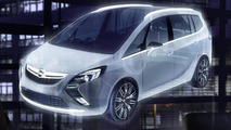 Opel Zafira Tourer Concept teaser 09.02.2011