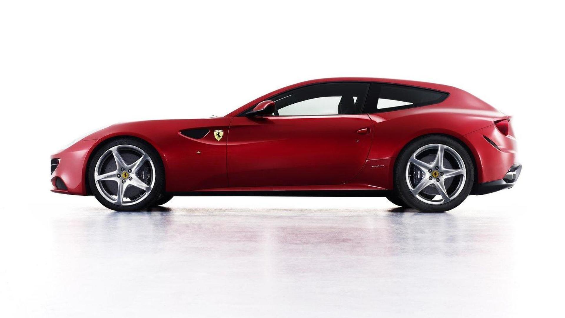 Ferrari FF thrashing in the hills [video]