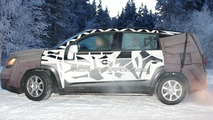 2011 Chevrolet Tacuma Spied Winter Testing