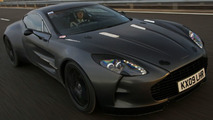 Aston Martin One-77 Testing [Video]