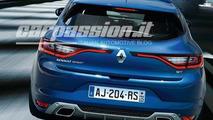 2016 Renault Megane leaked image / CarPassion.it