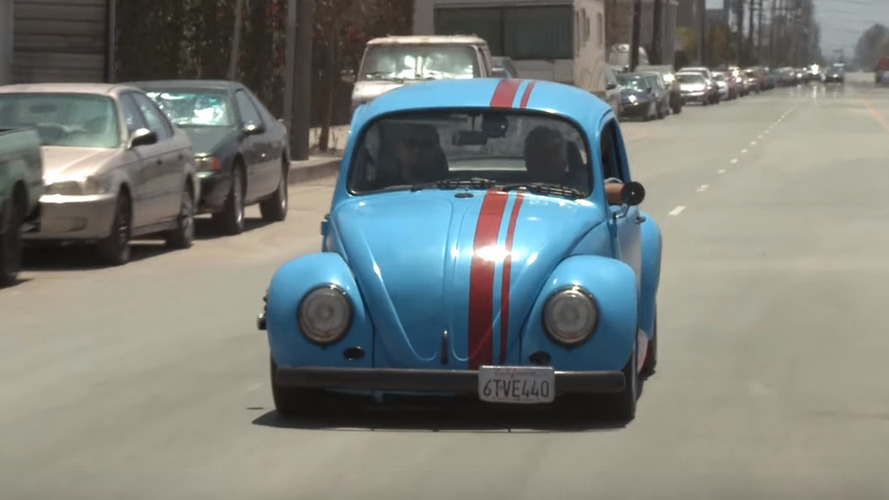 Jay Leno brings a rotary-powered VW Beetle to the garage