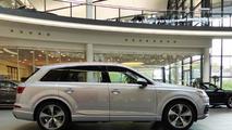 Audi Forum Neckarsulm showcases 2015 Q7 Florett Silver Metallic