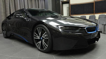 BMW i8 in Sophisto Grey from BMW Abu Dhabi