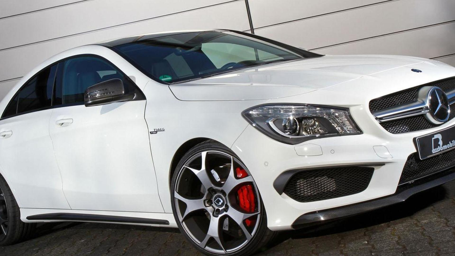 B&B tunes the Mercedes CLA 45 AMG to 450 PS